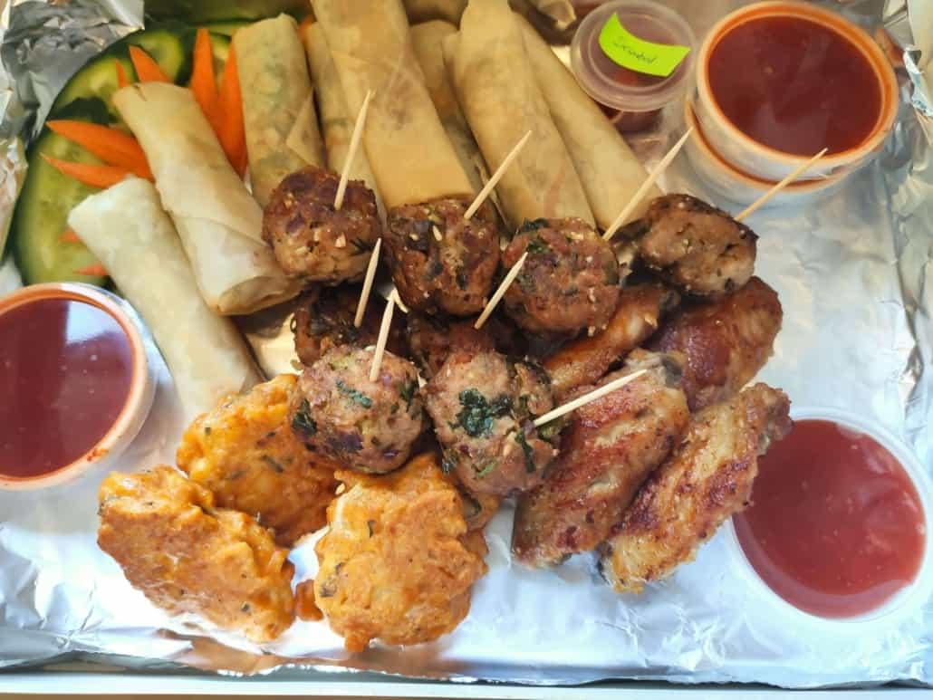 Thaise snacks van Siam Kitchen